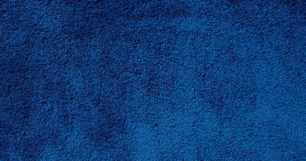 Zbliżenie niebieski dywan tło