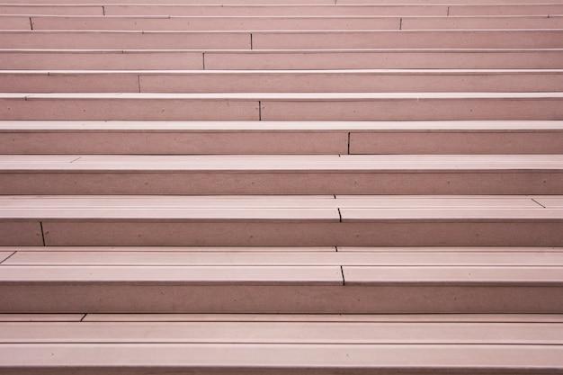 Zbliżenie nowożytni outdoors schodki