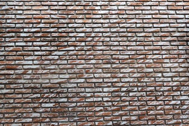 Zbliżenie nowożytny ściana z cegieł wzoru tło w nowożytnym budynku