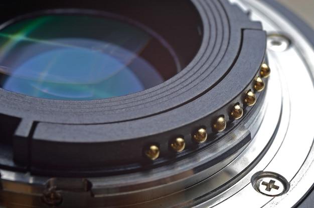 Zbliżenie obiektywu 50 mm
