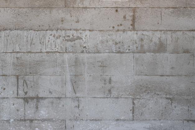 Zbliżenie obrazu tekstury ścian betonowych i tła szczegółów