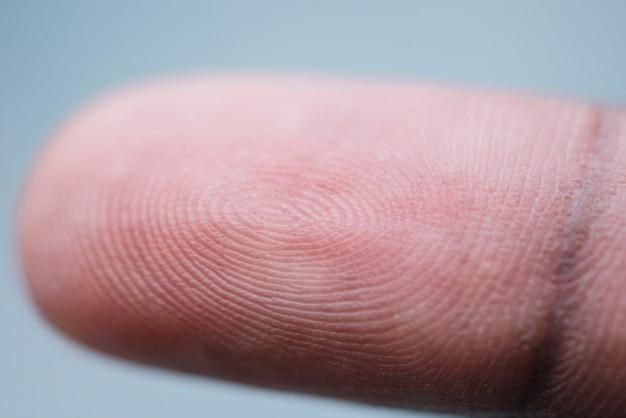 Zbliżenie palca