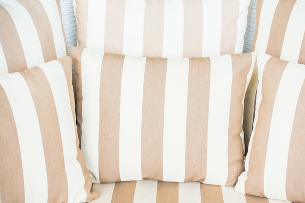 Zbliżenie paski poduszek