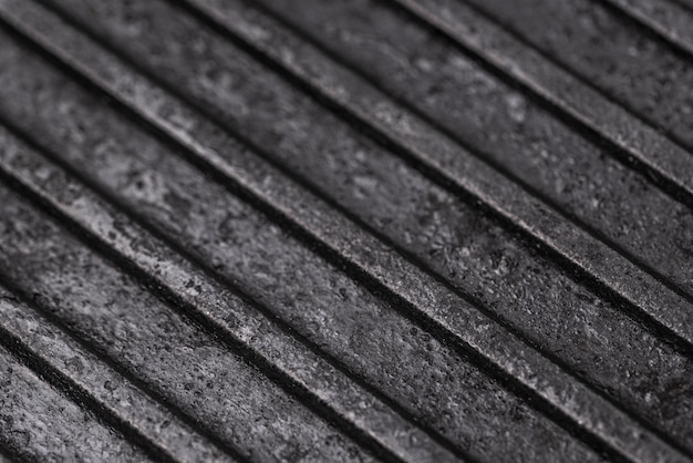 Zbliżenie powierzchni metalowej