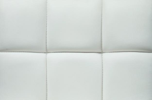 Zbliżenie powierzchnia szara skóra kanapy tekstura