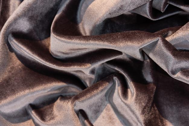 Zbliżenie próbki luksusowej tkaniny
