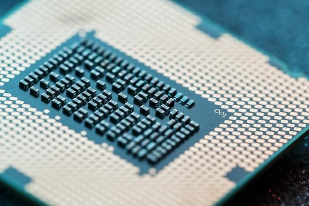 Zbliżenie procesora procesora