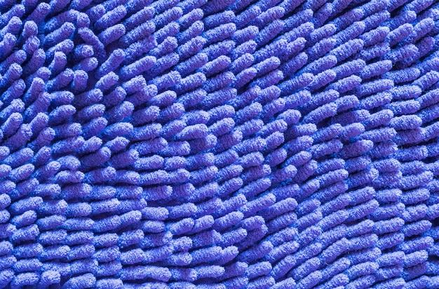 Zbliżenie stary niebieski mat tekstura tło