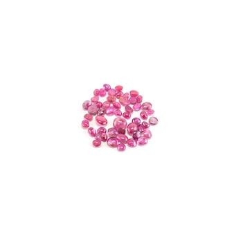 Zbliżenie stos odizolowywający różowy otoczak