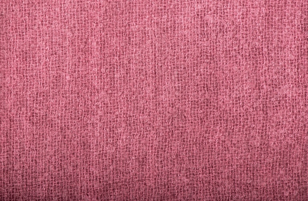 Zbliżenie tekstura bezszwowa różowa dzianina