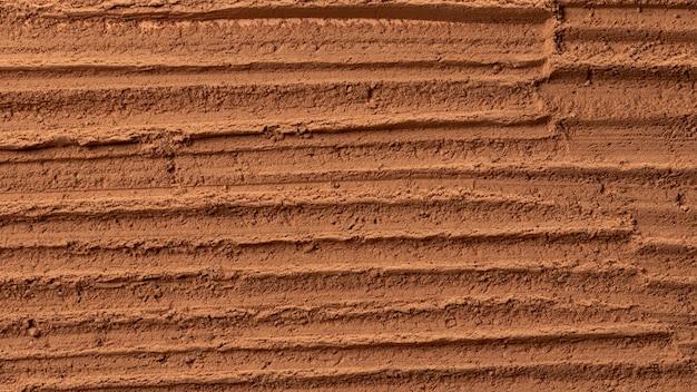 Zbliżenie tekstury ceramiki