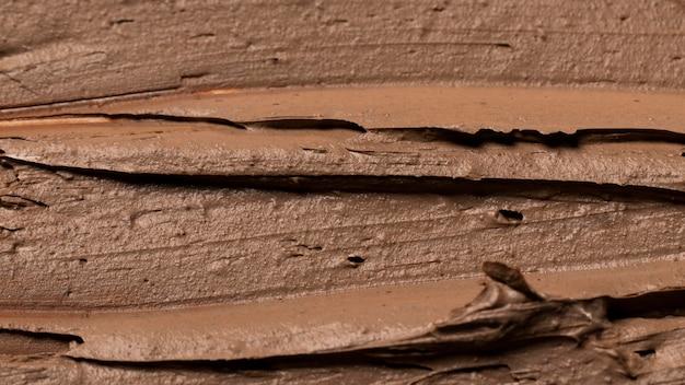 Zbliżenie tekstury gliniany garnek