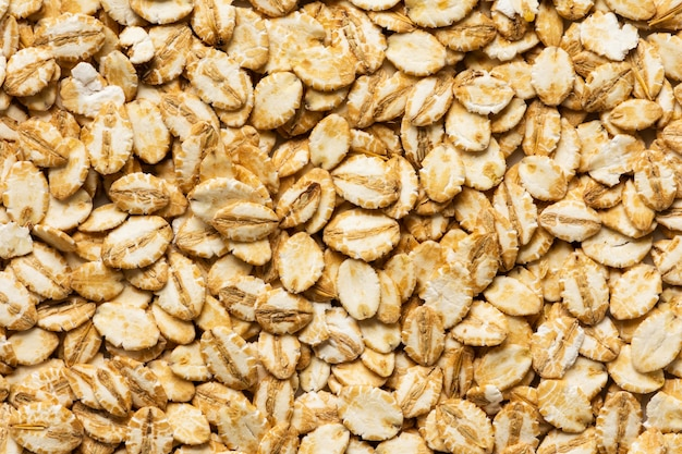 Zbliżenie tekstury na skład pysznej żywności