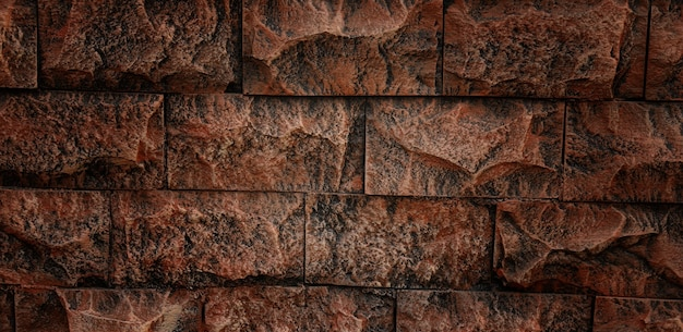 Zbliżenie tekstury ściany z cegły na tle