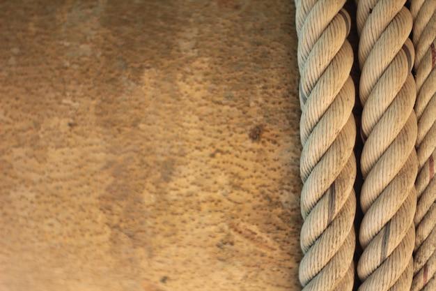 Zbliżenie tła węzeł liny