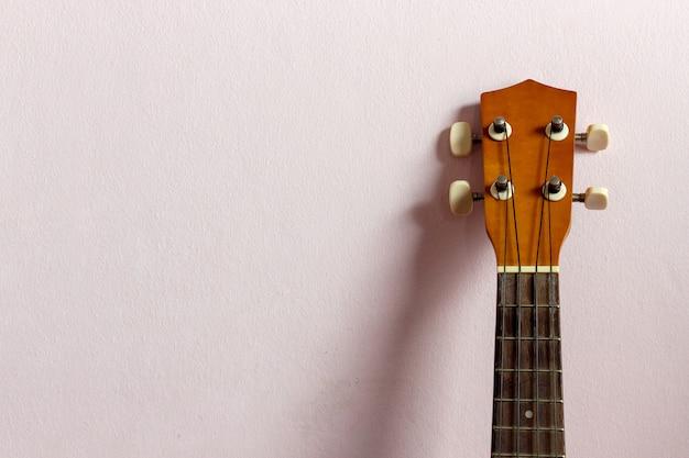 Zbliżenie ukulele