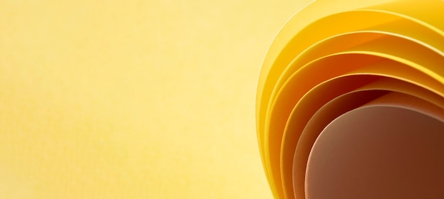 Zbliżenie warstw papieru w rolce