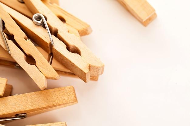 Zbliżenie wizerunek eco clothespins