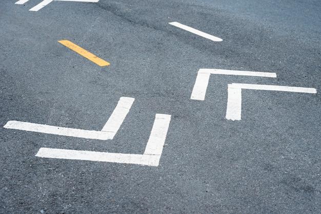 Zbliżenie znaki drogowe
