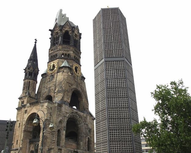 Zbombardowany kościół, berlin
