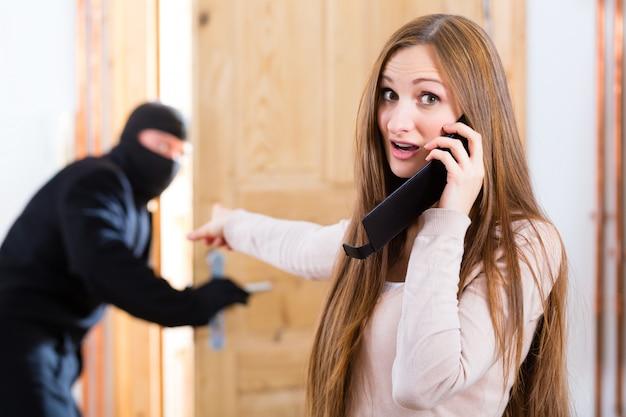 Zbrodnia włamaniowa - sprawca i ofiara