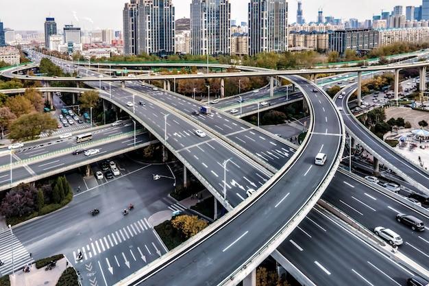Zdjęcia lotnicze pokonują współczesne chińskie miasta