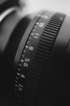 Zdjęcia makro w skali odległości obiektywu aparatu