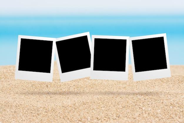 Zdjęcia w tle na plaży