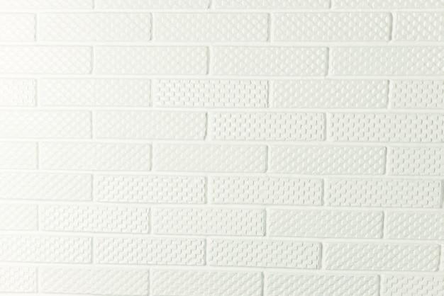 Zdjęcie białego tła ściany z cegły