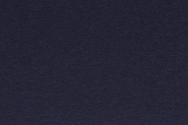 Zdjęcie ciemnego, granatowego papieru makulaturowego, bardzo grube ziarno, próbka tekstury grunge. zdjęcie w wysokiej rozdzielczości.
