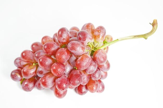 Zdjęcie czerwonych winogron bez nasion