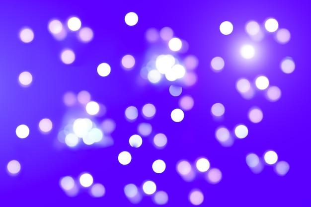 Zdjęcie niewyraźnych świateł. abstrakcyjny wzór tła w efekt bokeh.