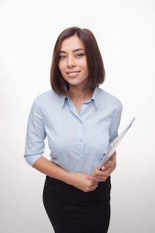 Zdjęcie pięknej kobiety biznesu