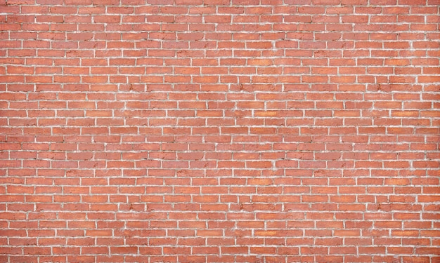 Zdjęcie ściany z cegły do dalszych prac w tle