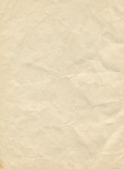 Zdjęcie tekstury starego wyblakłego papieru