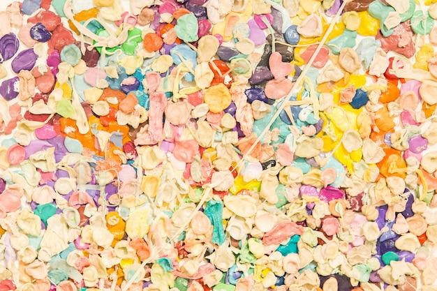 Zdjęcie z wielobarwnej gumy balonowej. tekstura gumy balonowej