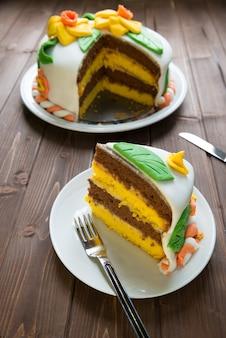 Zdobiony tort