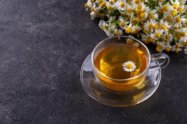 Zdrowa herbata rumiankowa