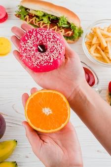 Zdrowa i niezdrowa żywność