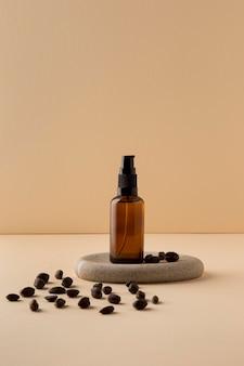 Zdrowa kompozycja olejku jojoba