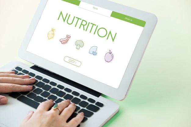 Zdrowa naturalna super żywność