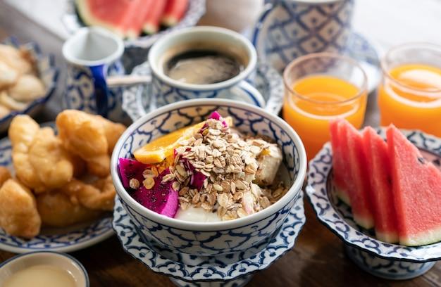 Zdrowa przekąska śniadaniowa