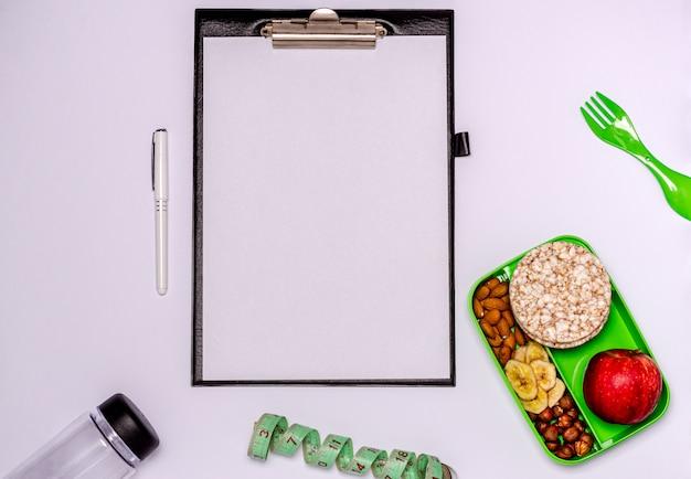 Zdrowa przekąska, zdrowy styl życia, planowanie menu.