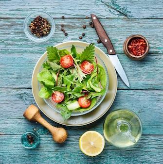 Zdrowa sałatka wegańska