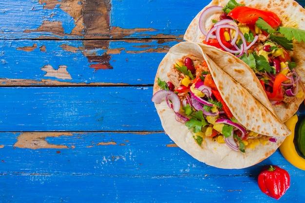 Zdrowe burritos