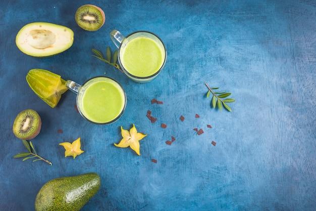 Zdrowe i pyszne zielone koktajle
