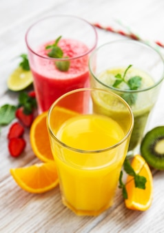 Zdrowe koktajle owocowe