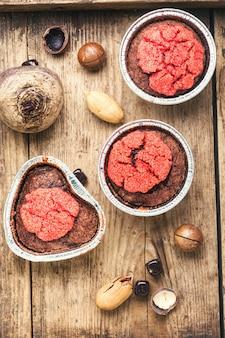 Zdrowe muffinki z burakami