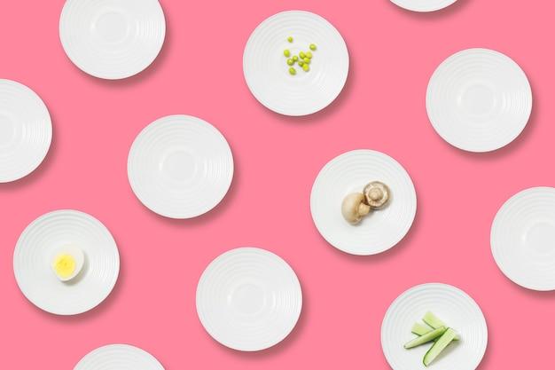Zdrowe odżywianie minimalistyczny wzór