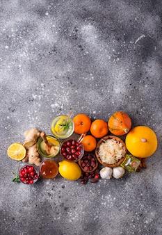 Zdrowe produkty zwiększające odporność